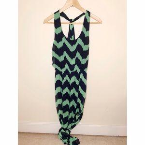 Francesca's Chevron Maxi Dress